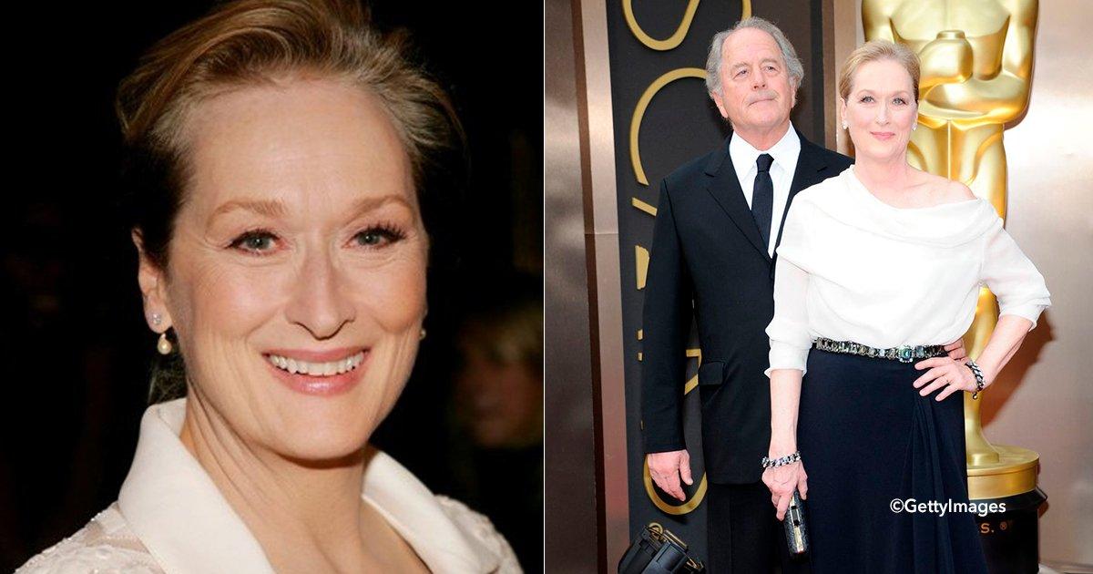 cover22mer.jpg?resize=1200,630 - Meryl Streep se encontraba devastada por la muerte de su primer amor pero llegó al poco tiempo el amor de su vida