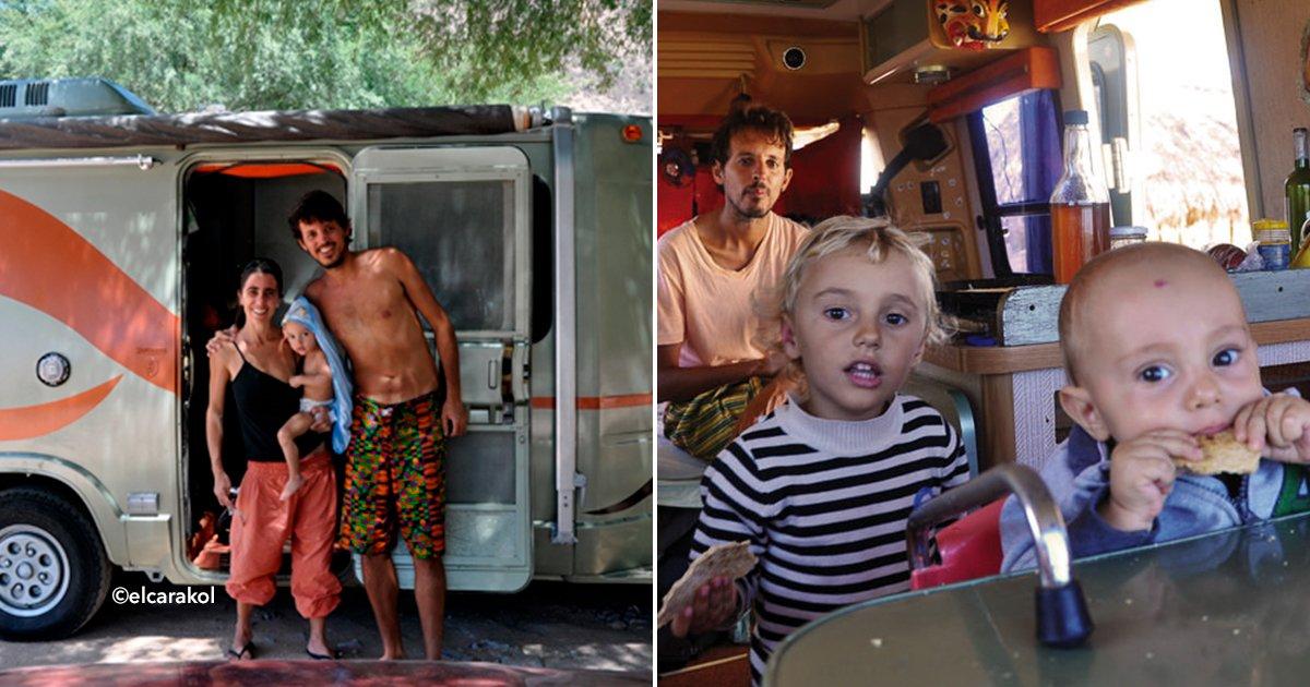 cover22nenes.jpg?resize=648,365 - La extraordinaria historia de la familia que lleva casi 20 años viajando por el mundo