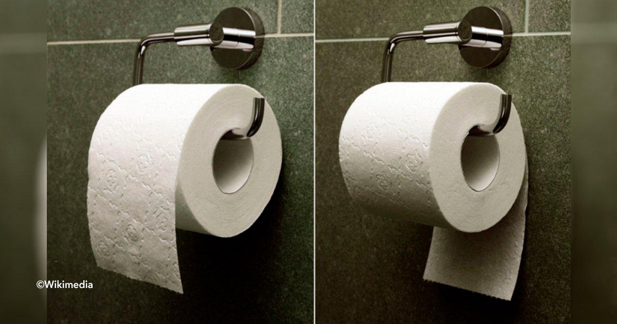 cover22papel.jpg?resize=412,232 - Según el creador del rollo de papel higiénico, así es como debes colocarlo correctamente en el baño