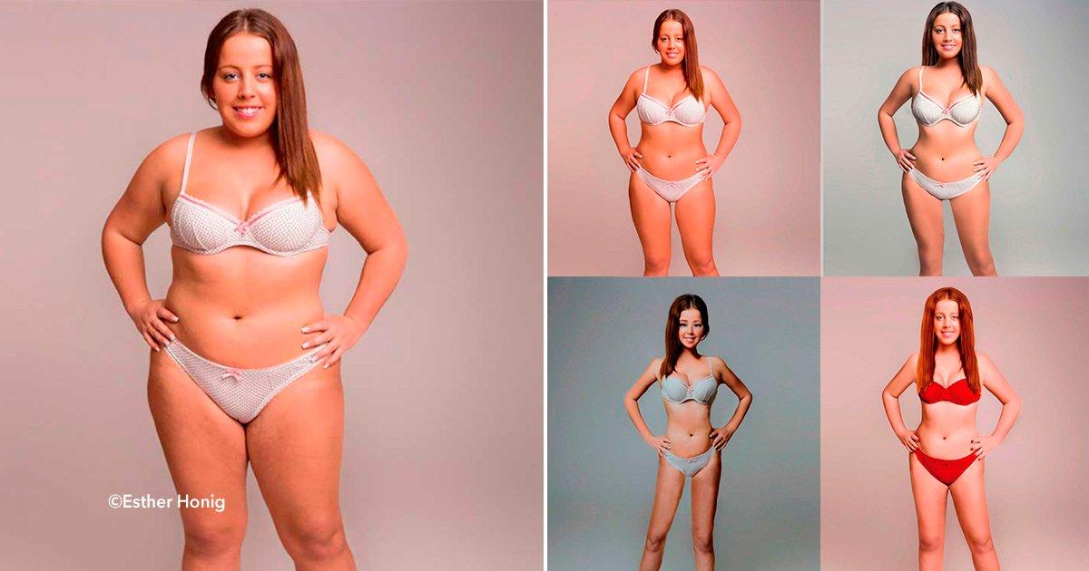 cover22photo.jpg?resize=300,169 - Mujer retocó su cuerpo con Photoshop para mostrar cómo sería su imagen dependiendo su origen