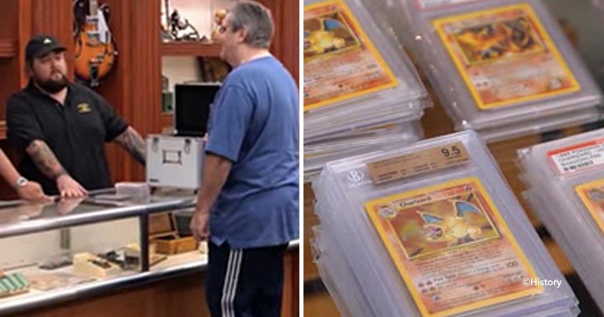 """cover22poke - Un hombre llegó a ofrecer 10 cartas de Pokemon a """"El precio de la historia"""" un experto confirmó que valen miles de dólares"""