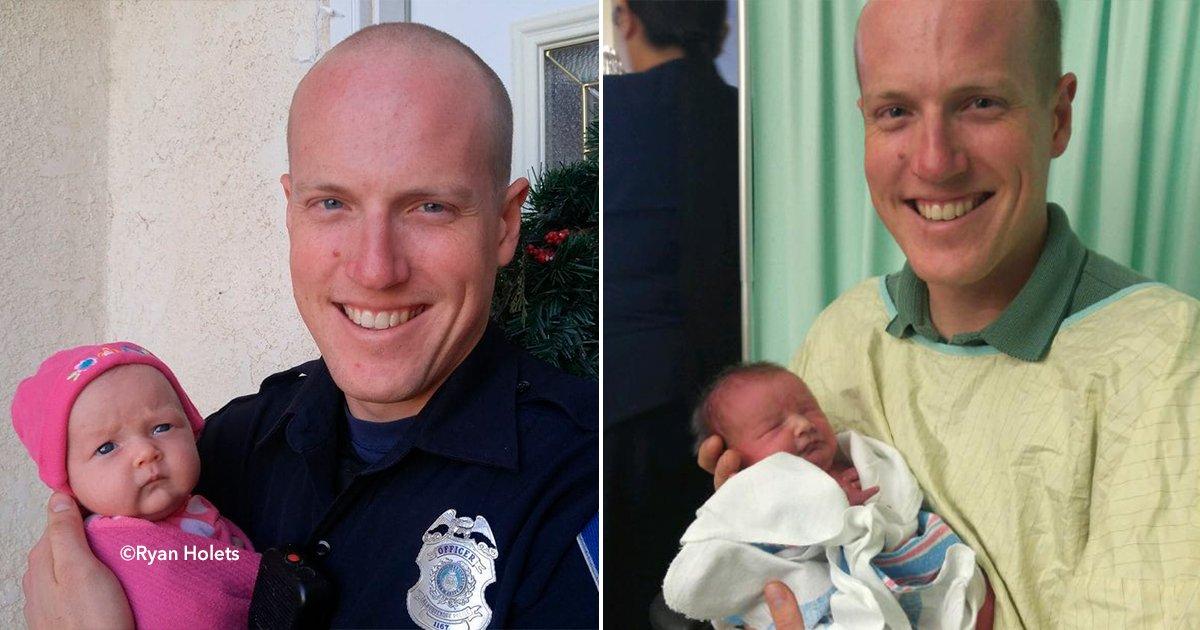 cover22police.jpg?resize=300,169 - Adoptó a la hija de una heroinómana tiempo después pública una fotografía reveladora
