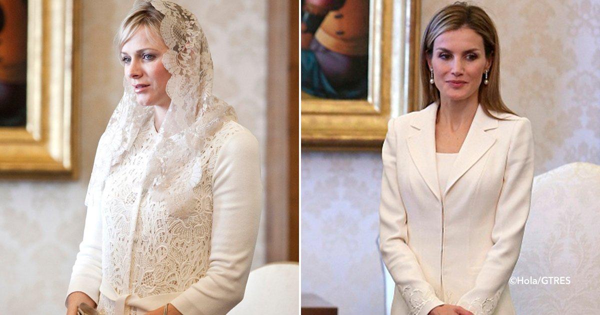 cover22ppaa - Solo hay 7 mujeres en el mundo a las que se les permite vestirse de blanco cuando visitan al Papa, aquí te explicaremos por qué