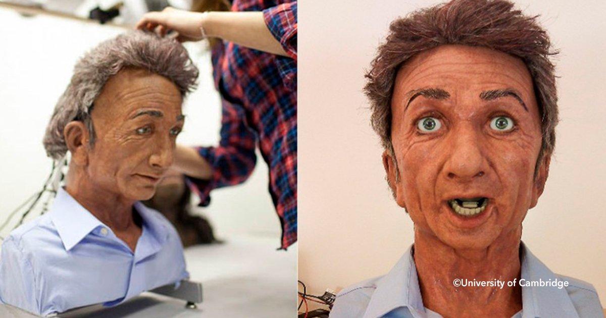 cover22robote - Él es Charles, el nuevo robot que tiene expresiones faciales y puede leer la mente