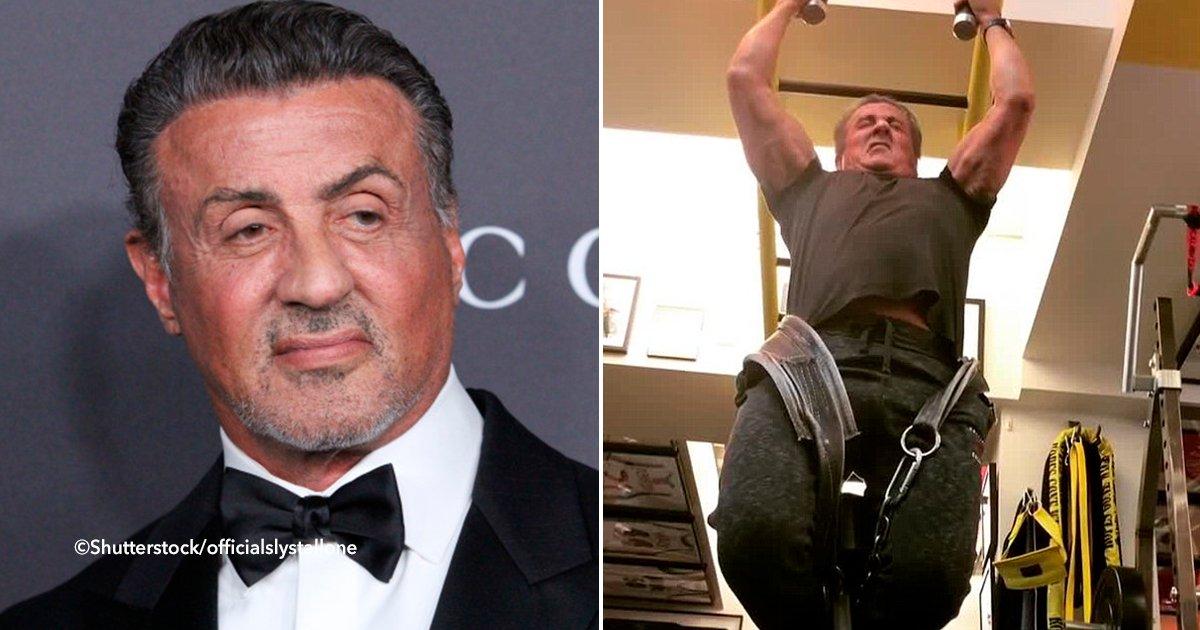 cover22rocky - Así entrena Sylvester Stallone a sus 71 años de edad para su nueva película Creed 2