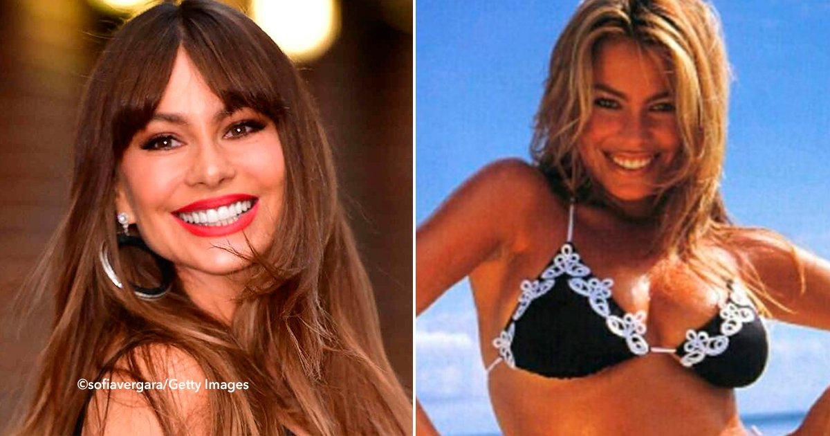 cover22sodf.jpg?resize=648,365 - La fotografía en bikini de Sofía Vergara de hace 20 años ha dejado a sus seguidores boquiabiertos