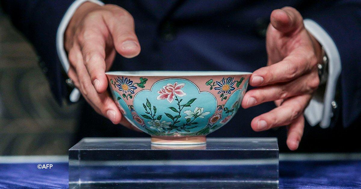 cover22taz - En china subastaron por 30 millones de euros un tazón de la dinastía Qing