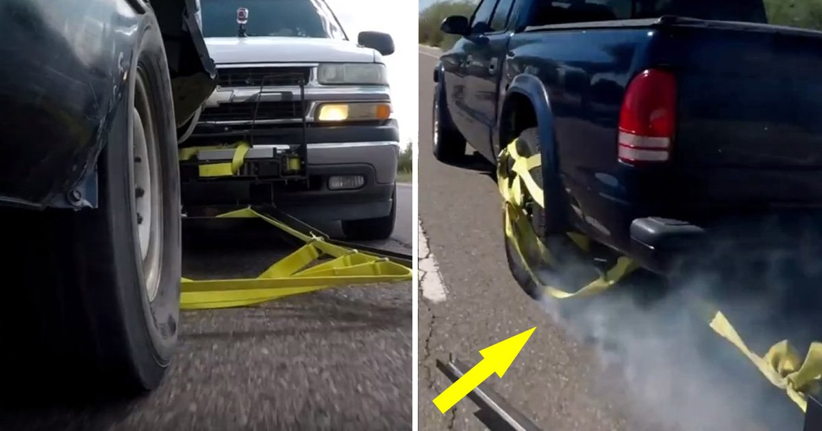 criminals - Grappler Is Not A Bike Rack, But This Weird Gadget Can Stop a Criminal Car Chase Without Any Mess