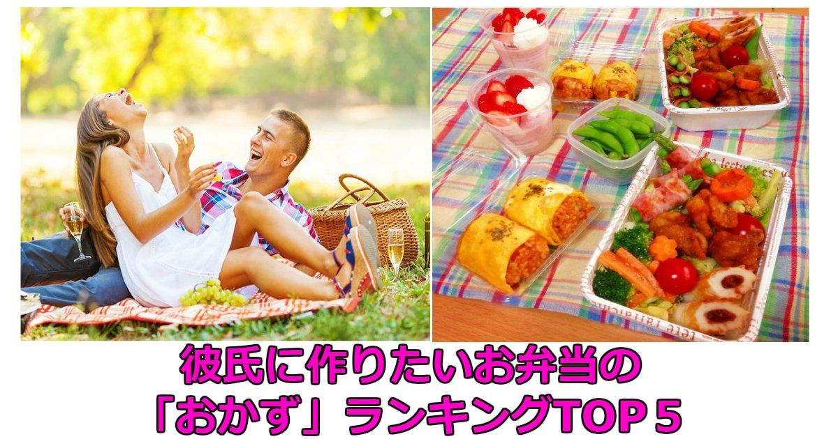 d - 【動画】彼氏に作りたいお弁当の「おかず」ランキングTOP5