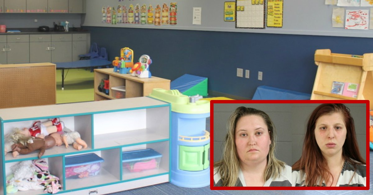 daycare abuse.jpg?resize=1200,630 - Two Daycare Employees Arrested After Hurting Toddlers During Nap Time