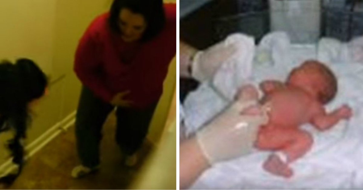 e38587e38587e384b9 - 임신한 엄마 너무 크게 놀래켜 '양수' 터지게 한 아들 (영상)