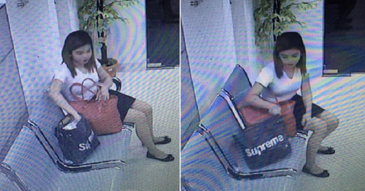 ec8db8eb84ac3eb8ba4ec8b9c.png?resize=1200,630 - Well-Dressed Woman Caught On Camera Stealing Phone From Lady's Bag