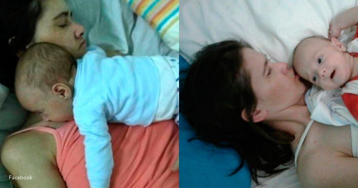 en coma - Tuvo una cesárea estando en coma y ahora su bebé le está cambiando la vida