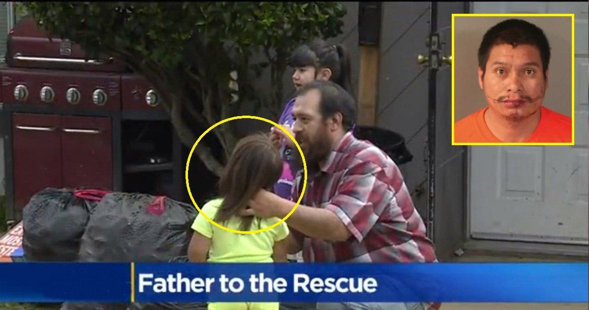 father.jpg?resize=648,365 - Un père sauve sa fille de 3 ans d'une tentative d'enlèvement.