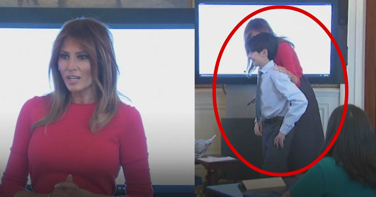 first lady.jpg?resize=412,232 - This Is How The First Lady Reacted When A Boy Accidentally Dropped Water Glass