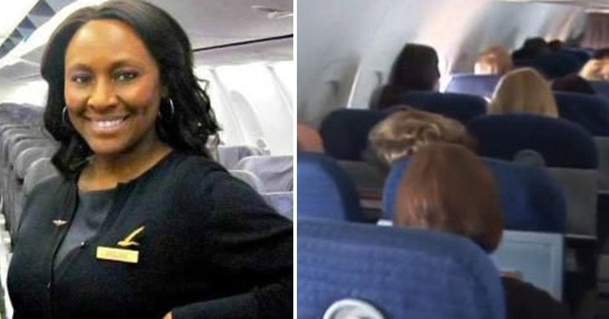 flight 1.jpg?resize=412,232 - Flight Attendant Felt Odd About Two Passengers, Alerted Pilot After Finding Out The Girl Needed Help