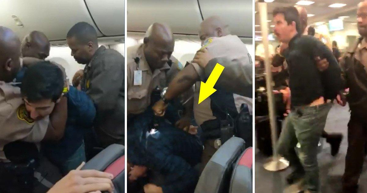 flight.jpg?resize=300,169 - Passenger Arrested After Allegedly Assaulting Passenger, Resisting Arrest on American Airlines Flight