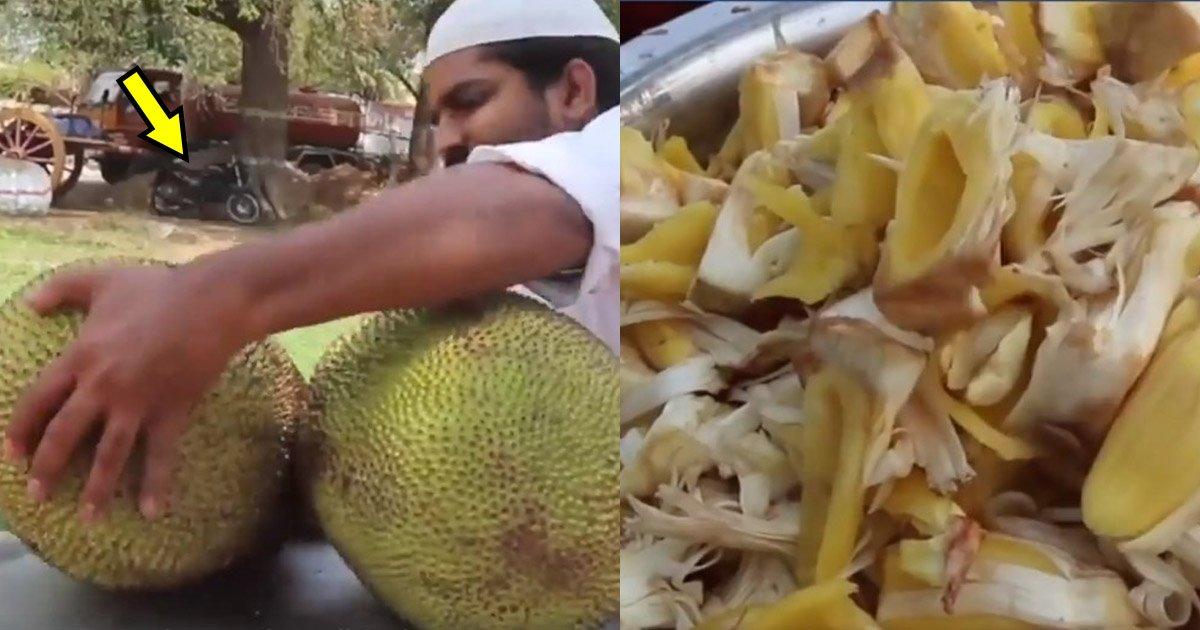 giant.jpg?resize=412,232 - Un chef cuisinier réalise Biriyani unique pour des orphelins utilisant deux fruits géants