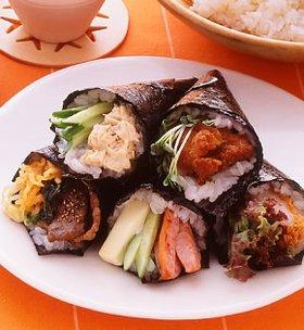 から揚げ 手巻き寿司에 대한 이미지 검색결과