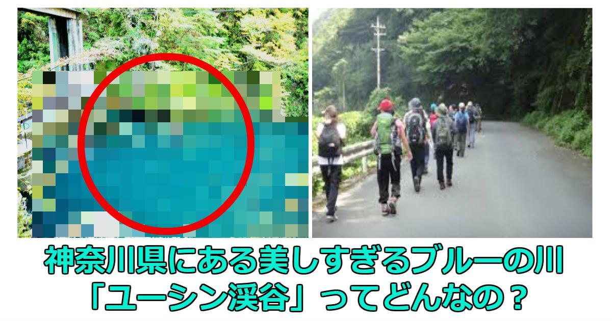 hu 2.jpg?resize=1200,630 - 神奈川県の美しすぎるブルーの川「ユーシン渓谷」ってどんなの?