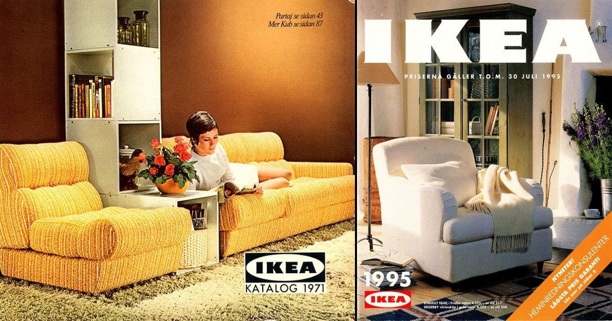 ikea tn - Vintage IKEA Catalogs Reveal How The Perfect Home Trends Changed From 1951 To 2000