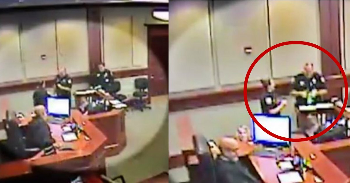 immature police.jpg?resize=412,232 - Two Florida Cops Get Suspended Without Pay Over What They Did In Court