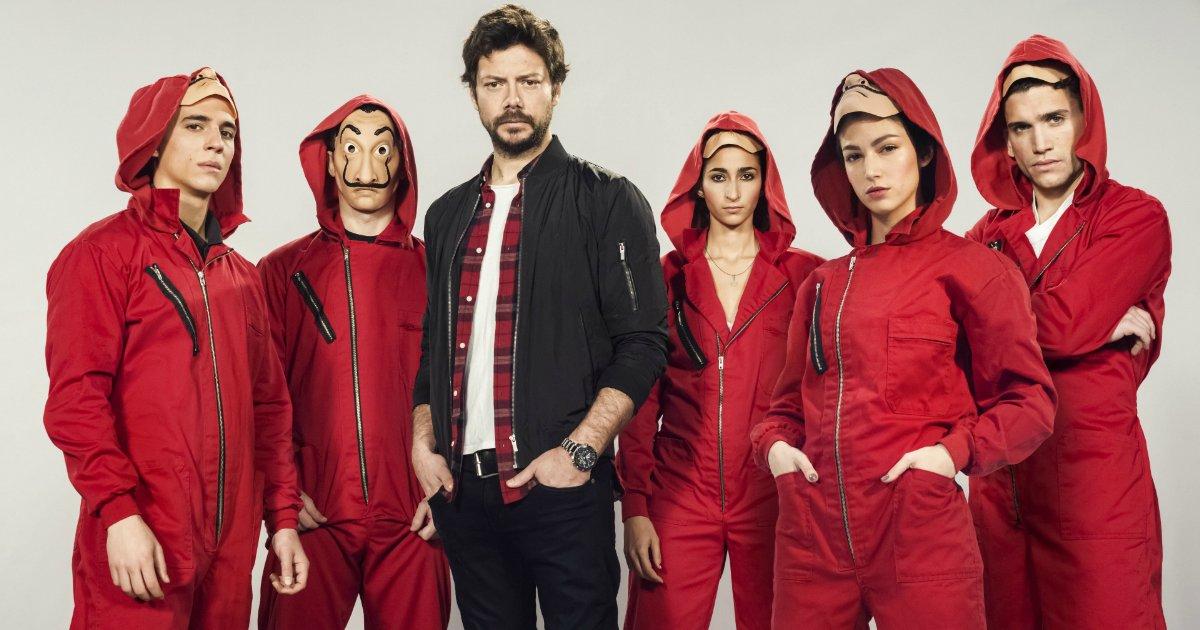 la casa depapale - Netflix surpreende e anuncia 3ª temporada de 'La Casa de Papel'