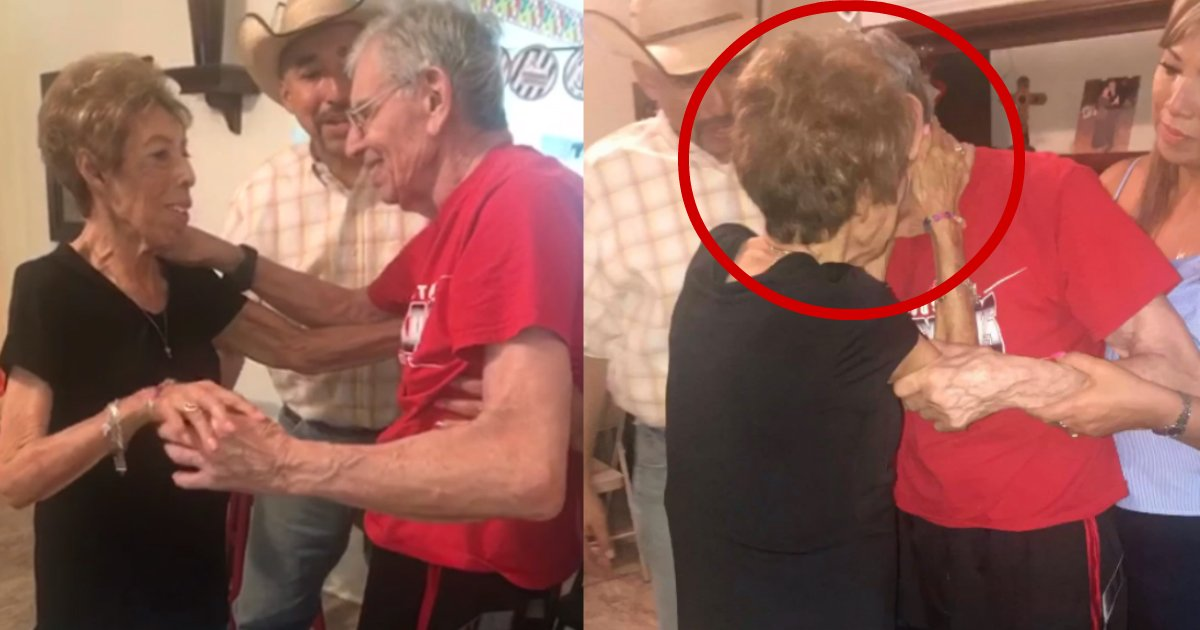 leaning to dance again.jpg?resize=412,232 - Man With Alzheimer's Disease Remembers How To Dance Waltz With His Wife