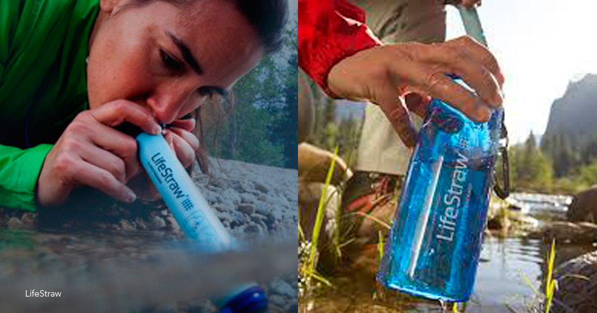 lifestraw - Un dispositivo logra transformar cualquier tipo de agua sucia en agua potable