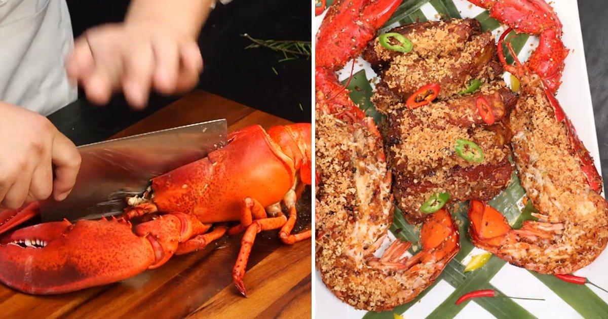 lobster 1.jpg?resize=1200,630 - La plupart des gens ne savent pas comment préparer un homard - voici comment vous êtes censé le faire