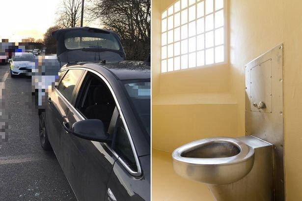 main suspected drug dealer on toilet strike after swallowing substance given 5 days - Ele ficou 47 dias sem fazer cocô para escapar da cadeia