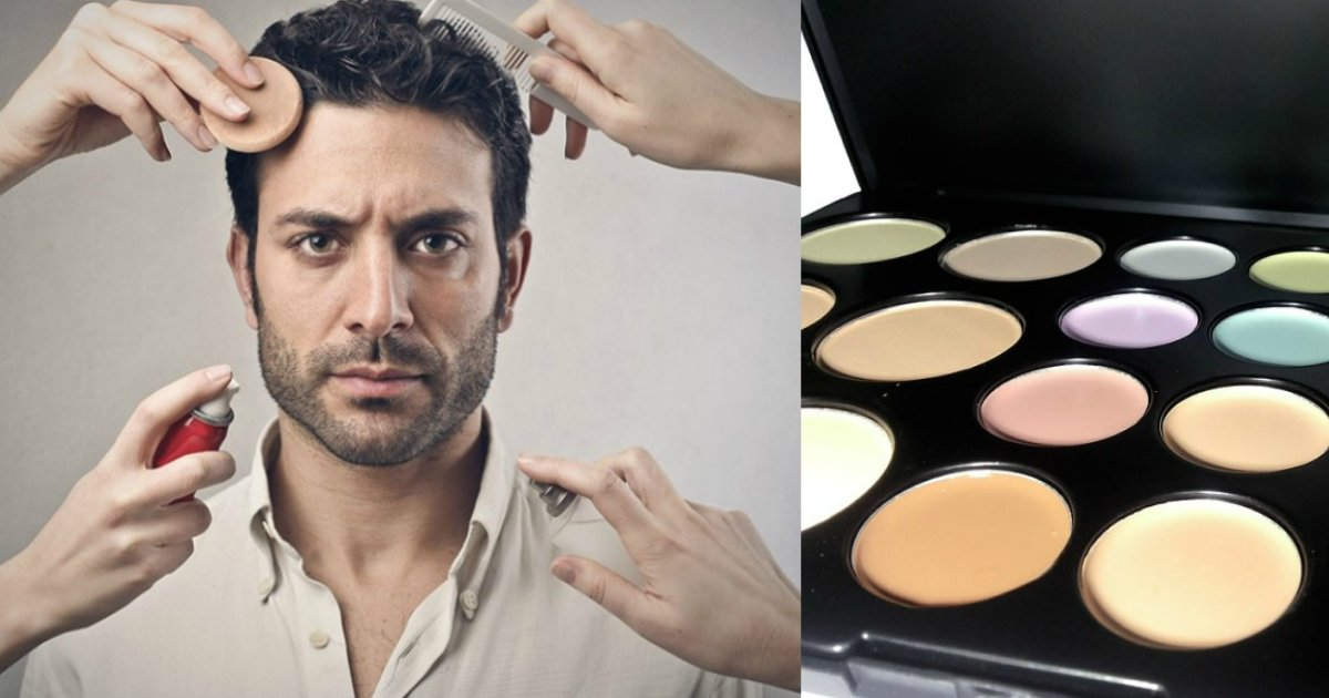 man makeup.jpg?resize=648,365 - It's Totally Okay For Guys To Wear Makeup - Cosmetics For Men Are On The Rise