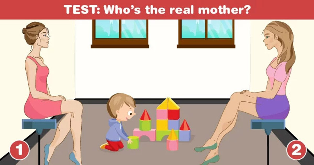 mohter - Identify The Real Mother Of The Kid In This Picture To Know More About Your Personality