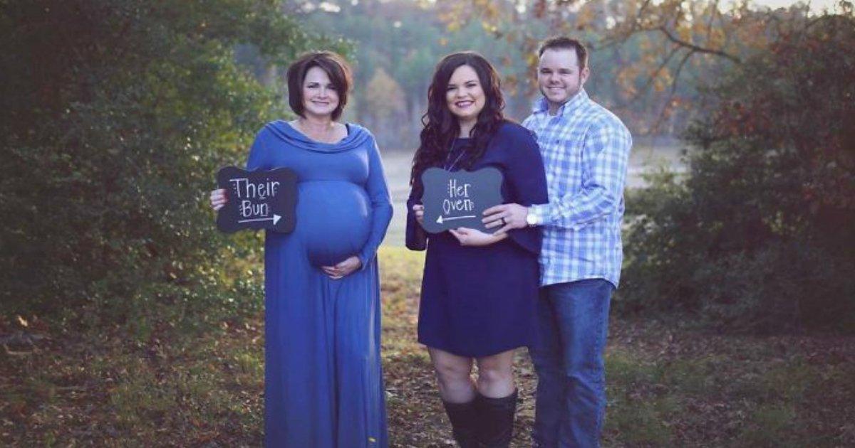 mother - Esta mãe decidiu ser uma substituta gestacional para o bebê do filho e essa história vai derreter seu coração