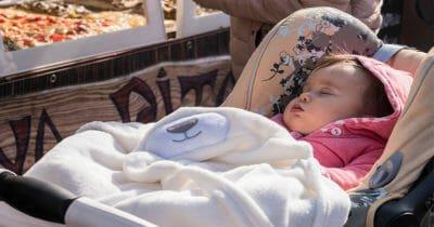 nunca cobrir seu carrinho de bebê com um cobertor 1