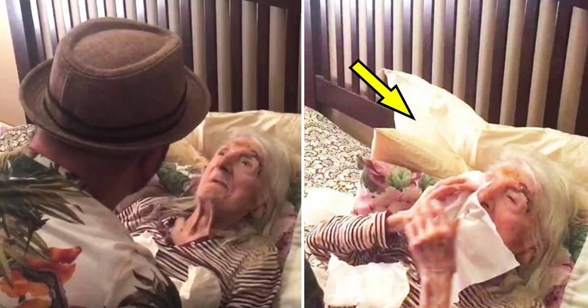 old.jpg?resize=648,365 - 98-year-old Grandmother Gives A Priceless Reaction When Her Grandson Sings Her Favorite Song