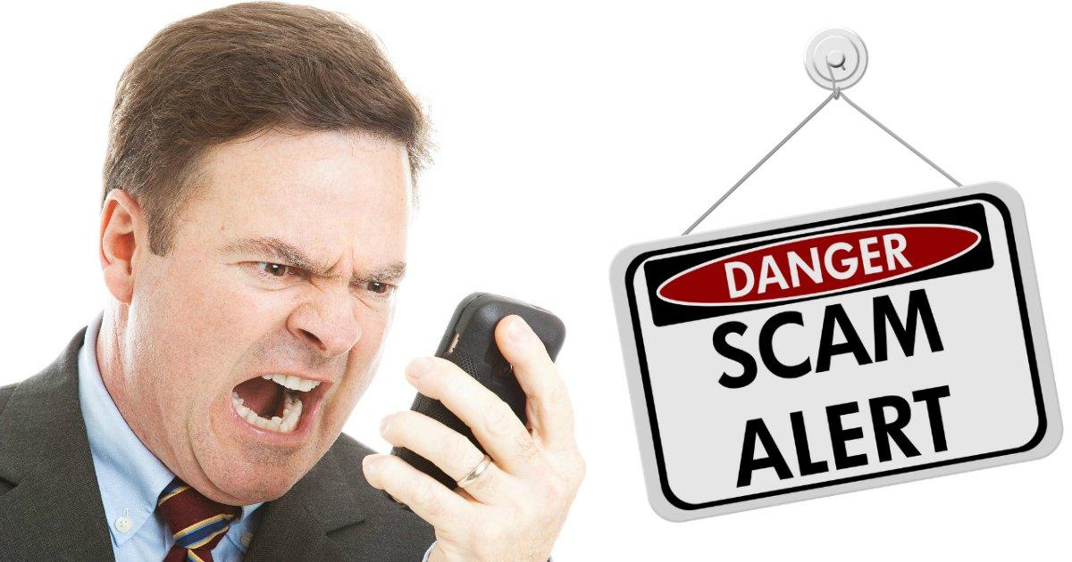 phone scams.jpg?resize=412,232 - Un scammer discipliné et réduit au silence après avoir joué avec le mauvais gars