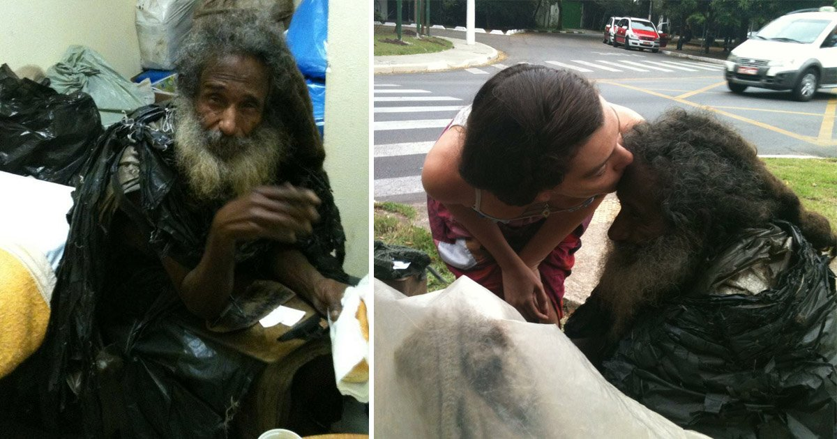 poor.jpg?resize=1200,630 - Woman Does Not Realise The True Identity Of The Homeless Man She Sees Everyday