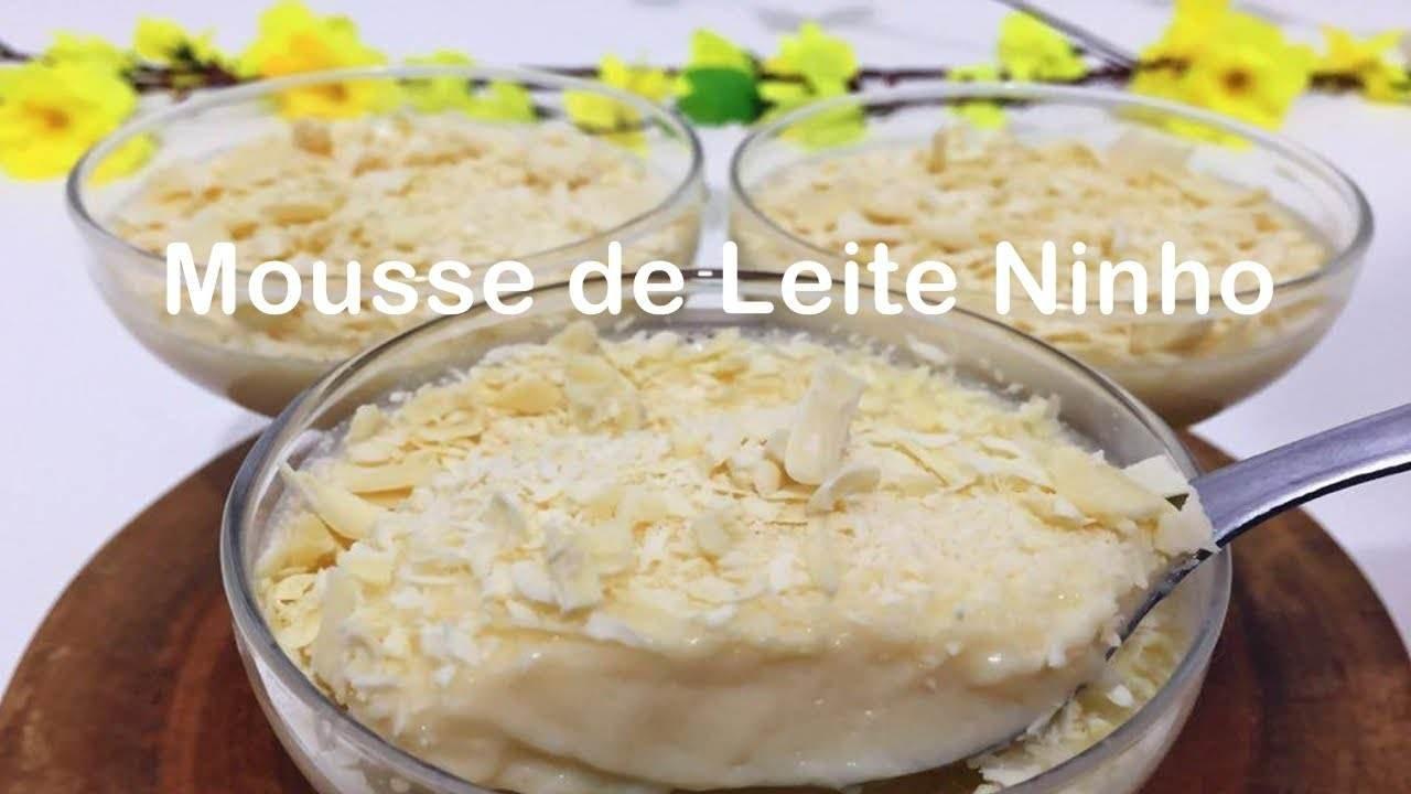 receita de mousse de leite ninho.jpg?resize=1200,630 - Receita de mousse de leite ninho super fácil e muito gostosa