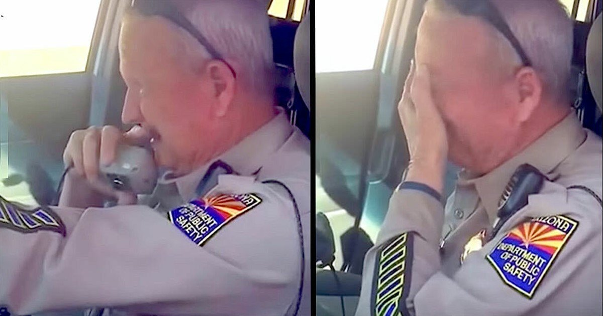 s 16 - Police Officer Retires After 37-Years And Is Brought To Tears