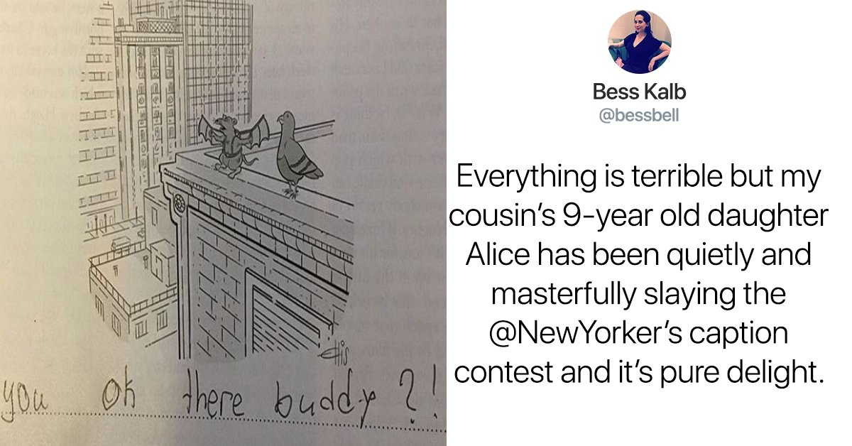 sample copy copy copy 11 - This 9-Year-Old Girl Writes The Best Captions For The New Yorker Cartoons