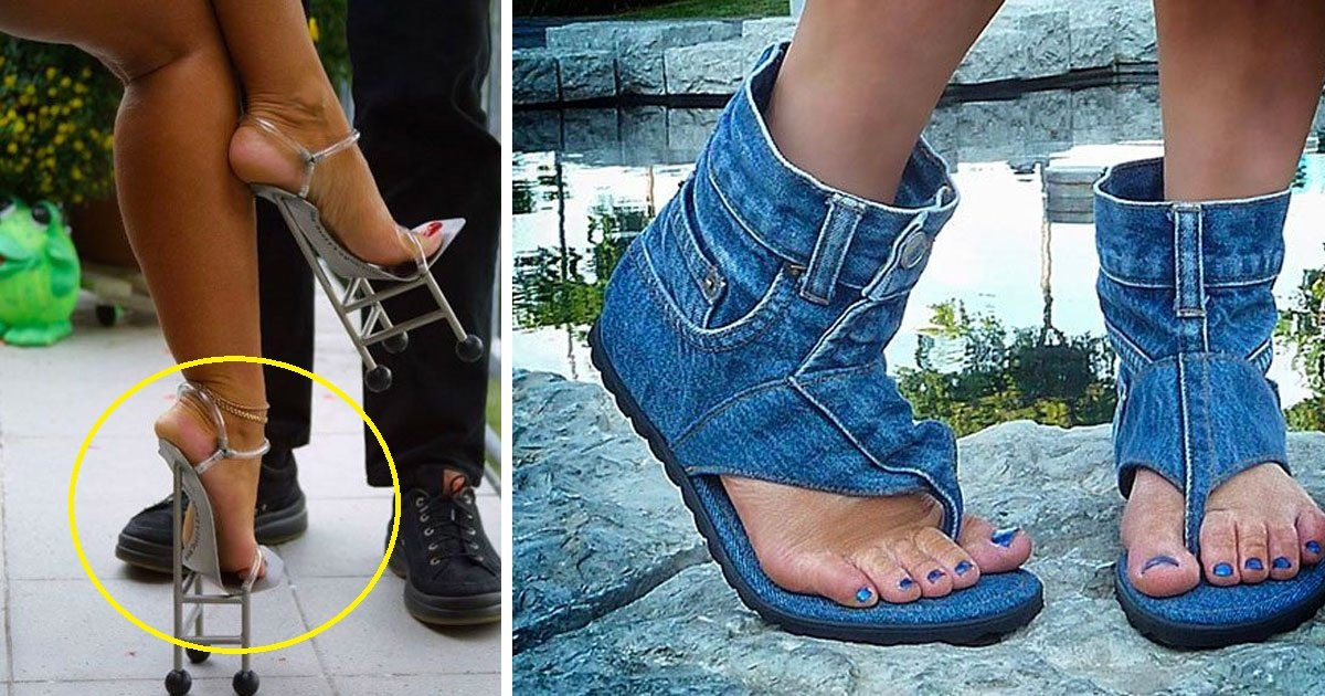 shoes.jpg?resize=412,232 - 10 Of The Craziest Pairs Of Shoes Ever