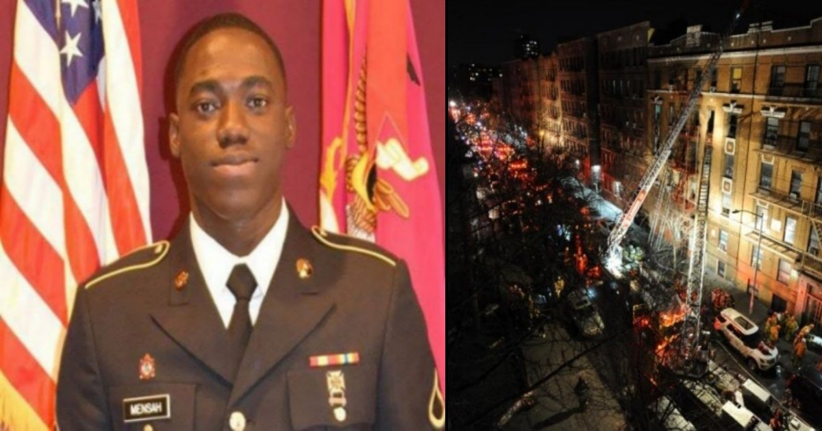 sol tn - A Big-hearted Soldier Gave His Life To Save Neighbors From Apartment Fire Incident