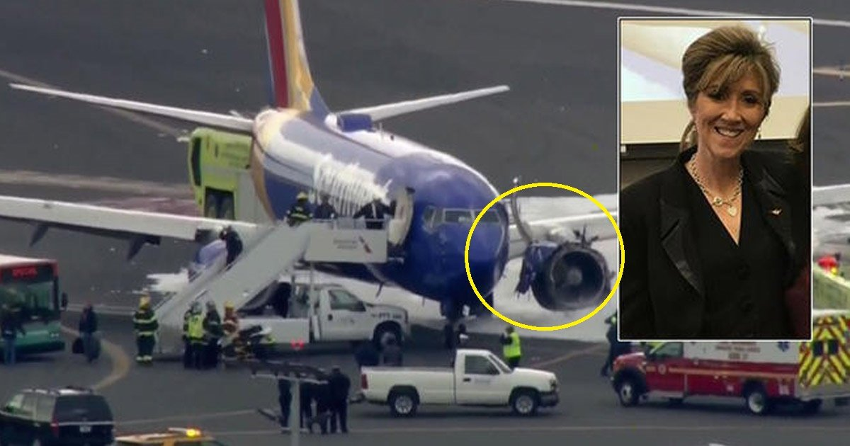 southwest - The Internet Is Surfacing With The Audio Recording Of The Southwest Flight's Hero Pilot During The Emergency Landing