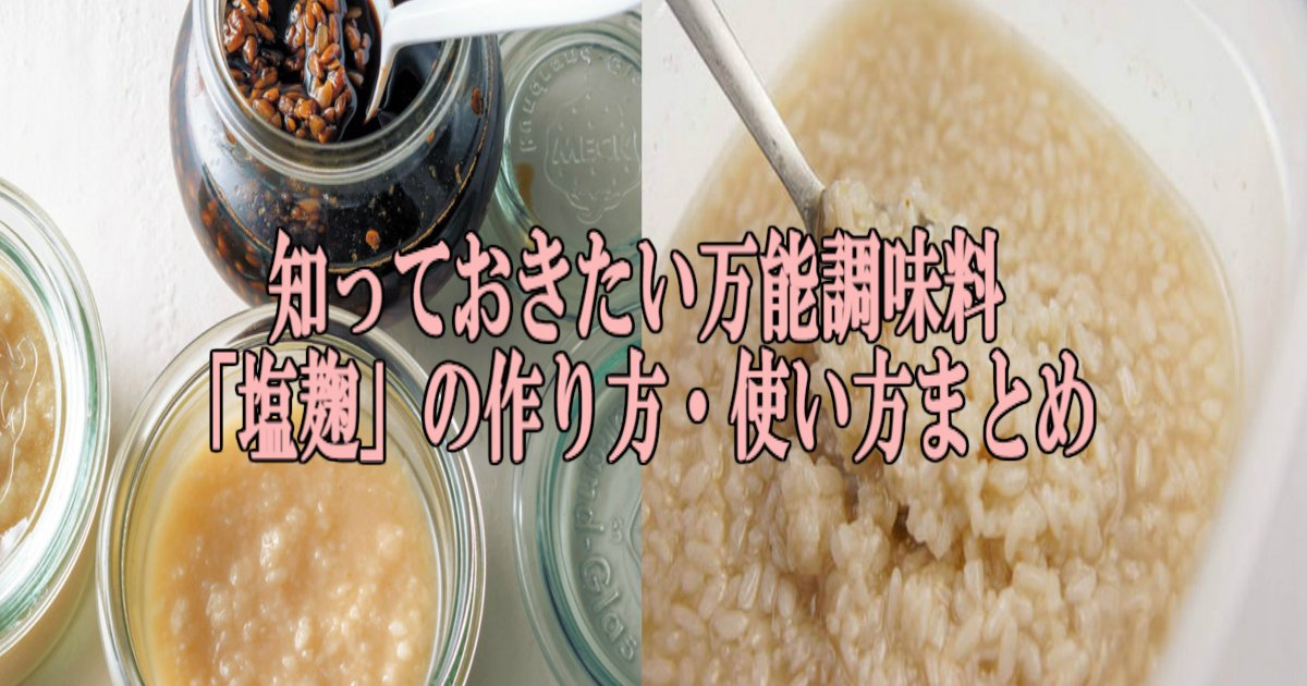 ss 2.jpg?resize=1200,630 - 万能調味料「塩麹」の作り方・使い方まとめ