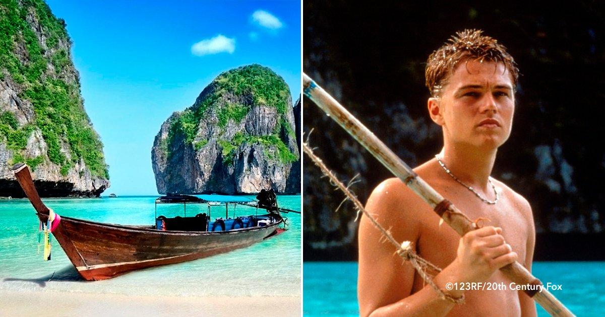 theneash - El paraíso donde se rodó la película La Playa protagonizada por Leonardo DiCaprio cierra sus puertas, conoce las razones