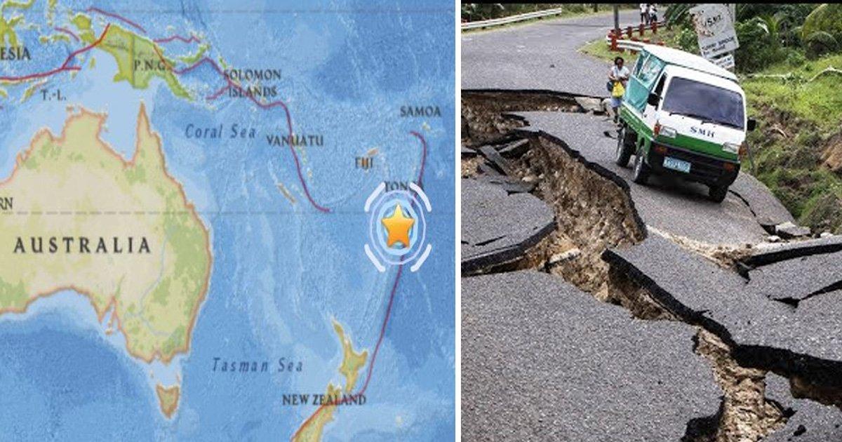 tongo.jpg?resize=412,232 - Un séisme d'une magnitude de 6,3 frappe le sud-ouest des îles Tonga