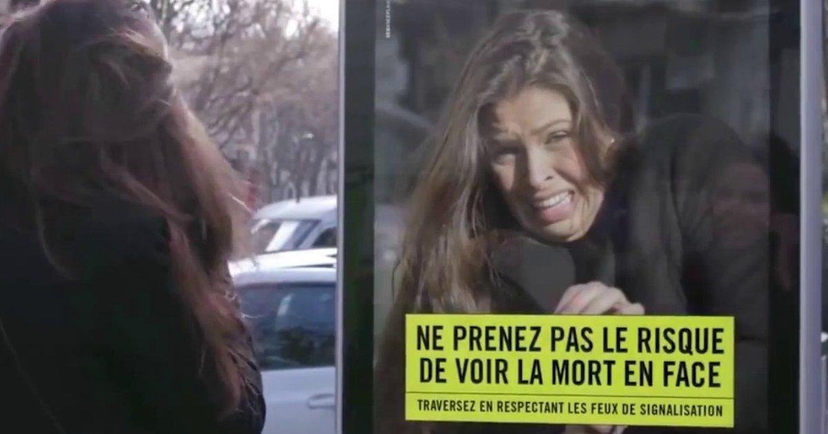 untitled 1 113.jpg?resize=1200,630 - Como você ficaria se morresse ao atravessar a rua sem observar as regras do cruzamento? Esses anúncios franceses vão te mostrar!