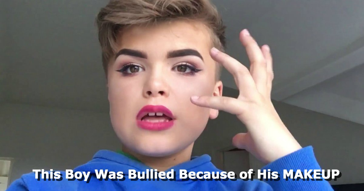 untitled 1 119.jpg?resize=648,365 - This 12-Year-Old Had To Deal With Bullying Because He Loves Wearing Makeup