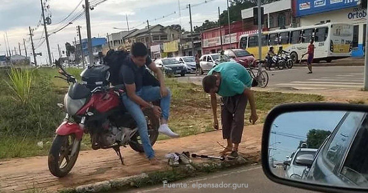 untitled 1 14 - Regaló Sus Zapatos A Un Malabarista Pero Ganó Algo Mejor